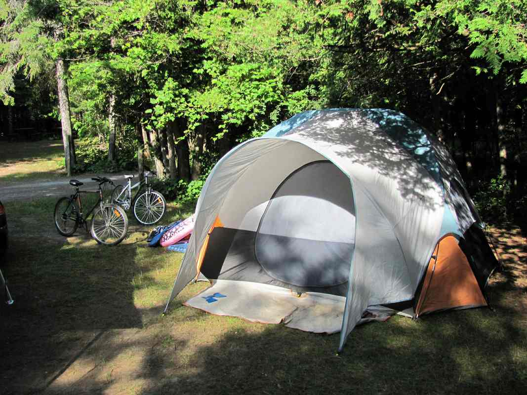 Camping en juillet aout